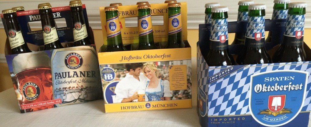 Oktoberfest Beers DeutschesBier