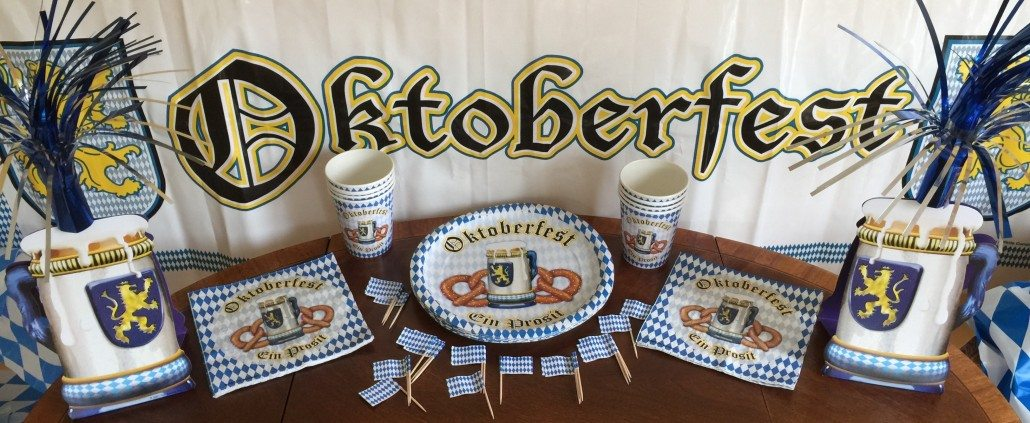 Oktoberfest Party Guide Decoration