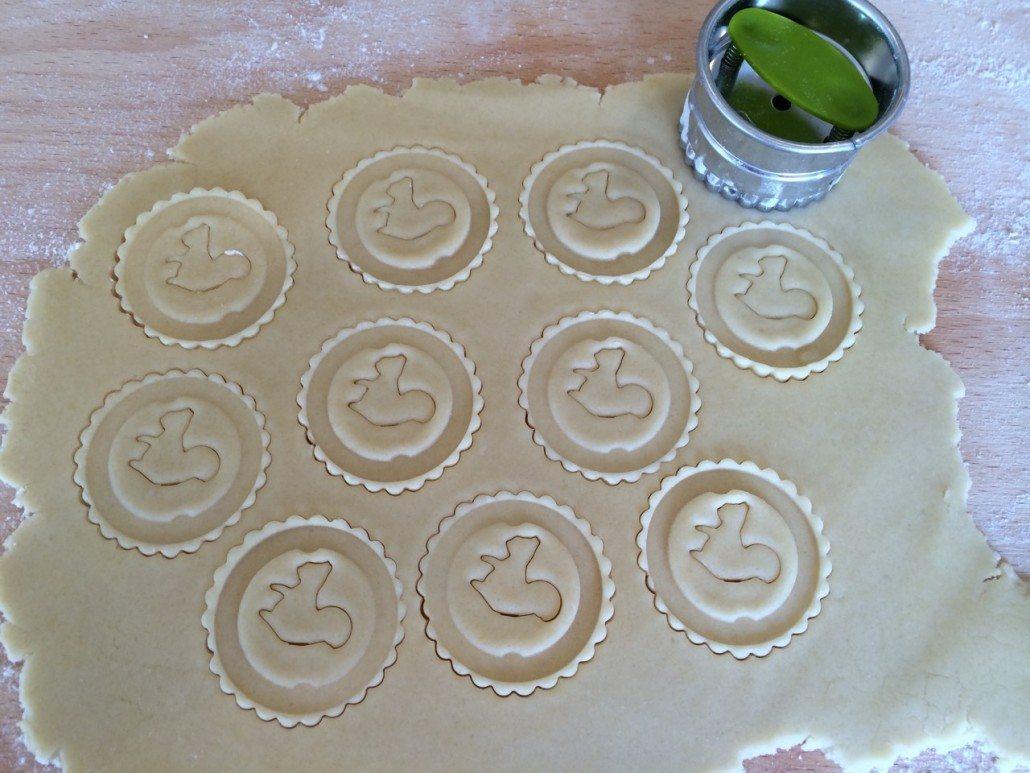 Cutting German Butter Cookies