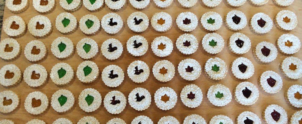 Display German Butter Cookies