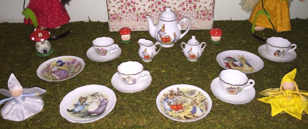 Peter Rabbit Stories Tea Set