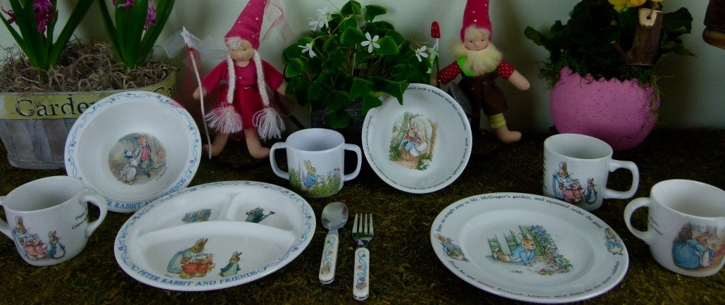 Peter Rabbit Theme table settings children