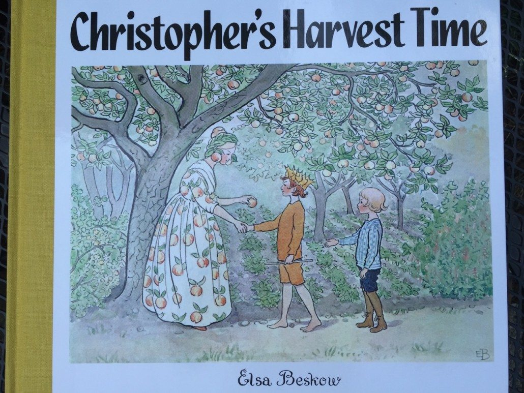 Christopher's Harvest Time by Elsa Beskow Children's Books Summer