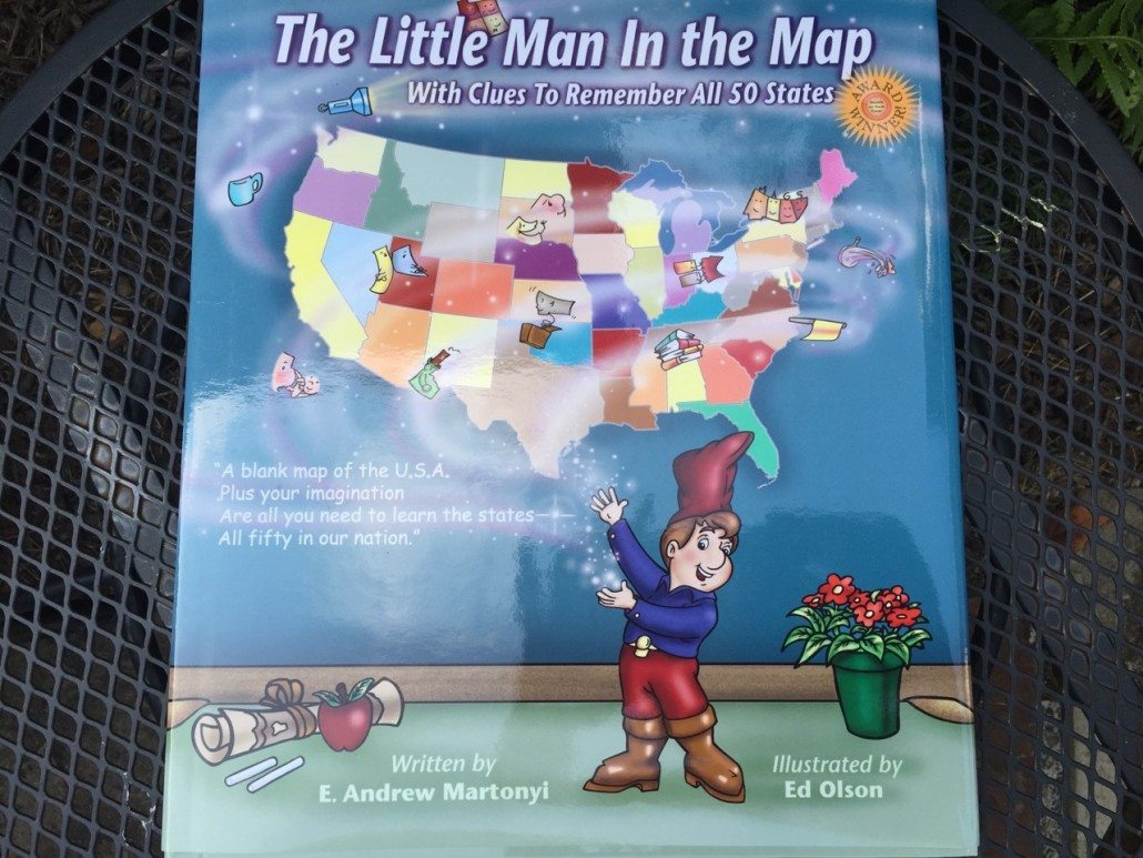 The Little Man In the Map by E.Andrew Martonyi