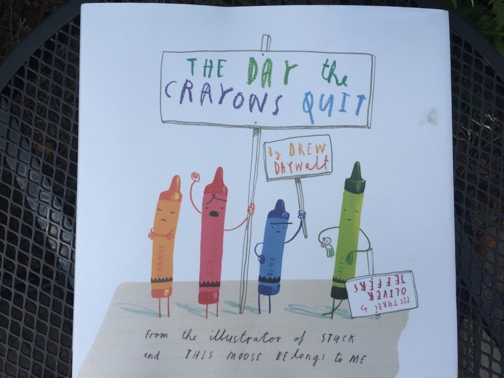 The Day the Crayons Quit by Drew Daywalt Children's Book Summer