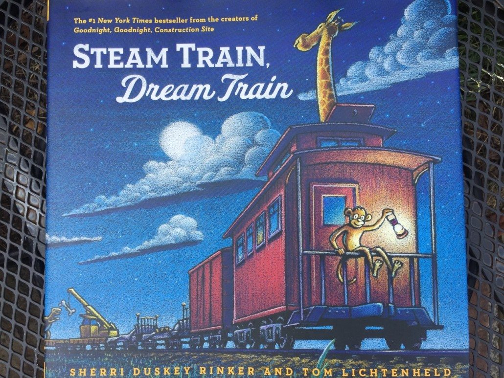 Steam Train, Dream Train by Sherri Duskey Rinker and Tom Lichtenheld Children's Books Summer