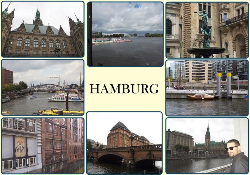 Hamburg Travel Through Germany