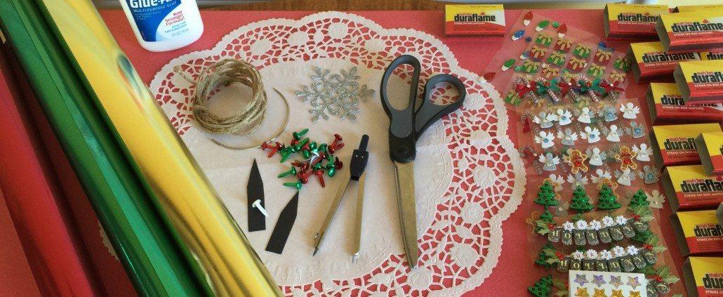 Making a Matchbox Advent Calendar