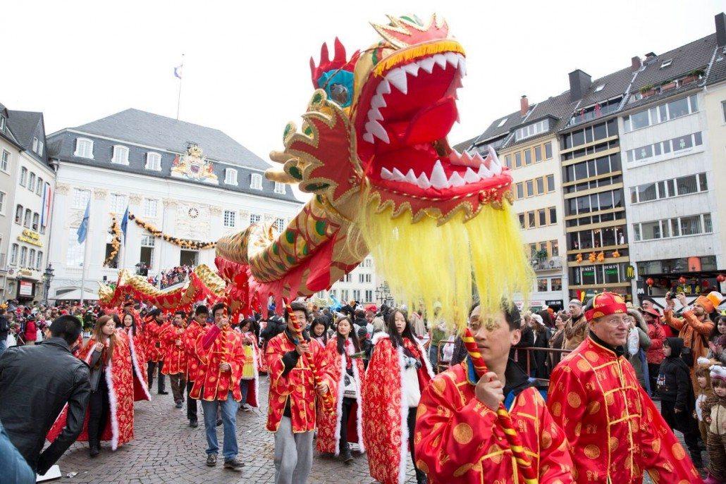German Karneval Mardi Gras Parade