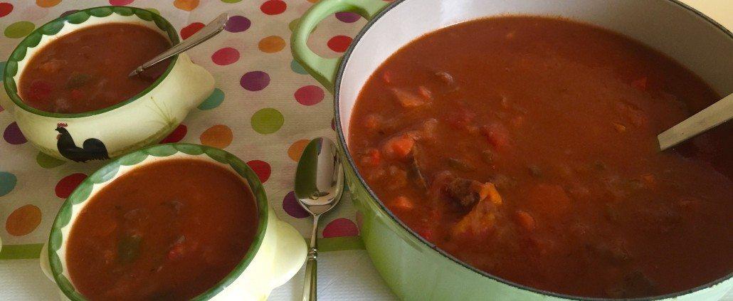 Homemade Goulash Soup