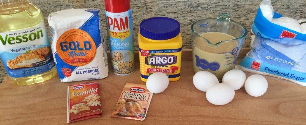Ingredients for German Egg Liqueur