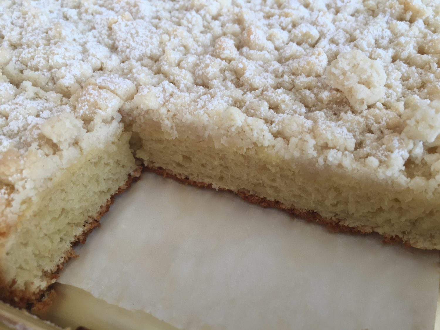 Original German Crumb Cake Recipe Basic Yeast Dough Topped With