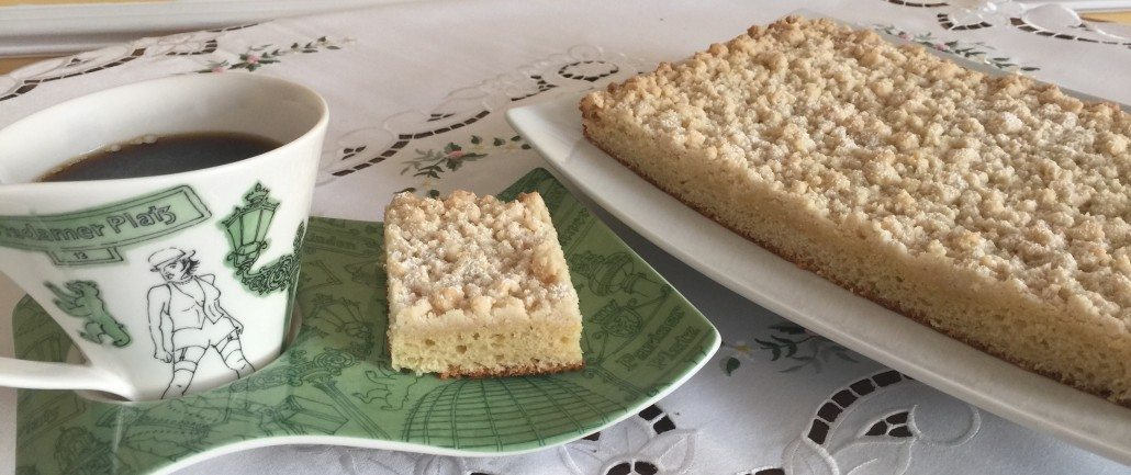 Original German Crumb Cake