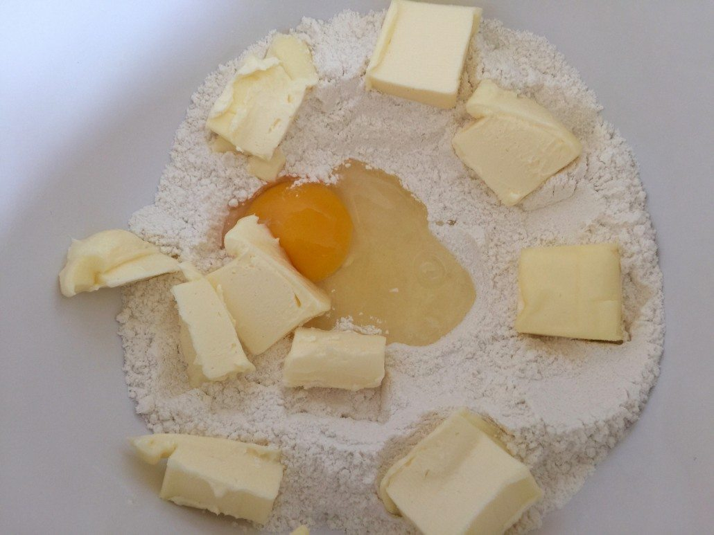 Preparation Dough Traditional German Cheesecake