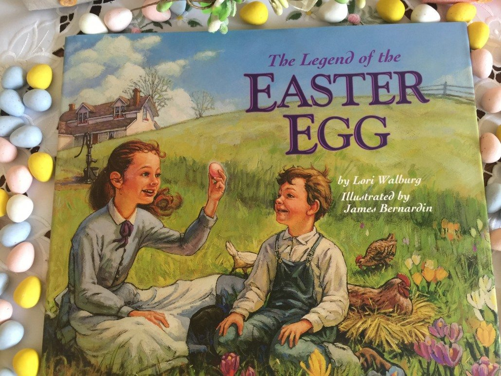 Top-Ten Easter Books -Legend of the Easter egg