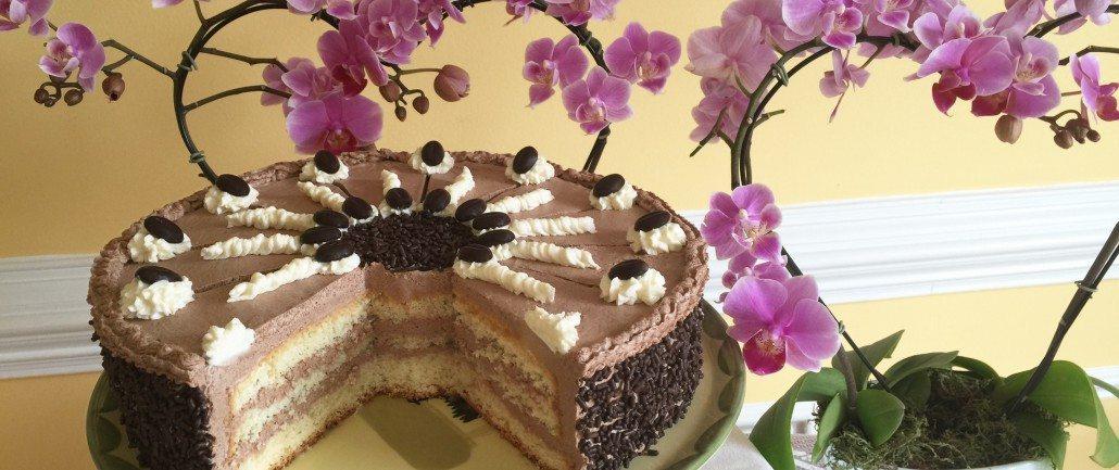 Mocha Buttercream Cake Recipe