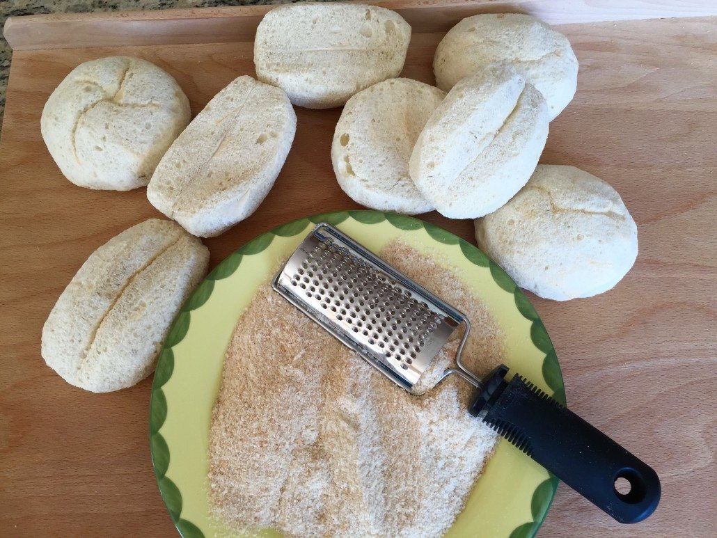 Preparation Traditional German Bread Patties Recipe