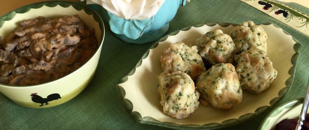 Original German Bread Dumplings Recipe